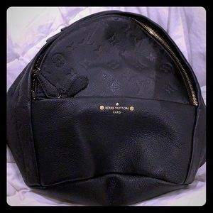 Louis Vuitton Sorbonne backpack black NEW
